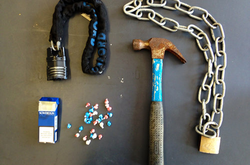TRAFALGER GARDENS DRUGS AND WEAPONS (2)