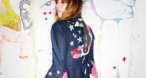 Designer Mary Benson's Spring/Summer 2015 collection Photo: Emily England