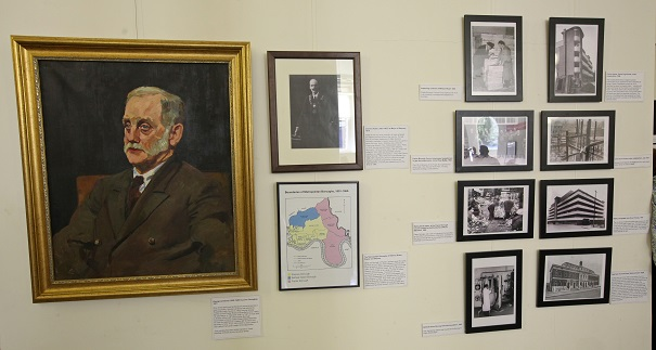 George Lansbury (left) stands out among other exihibits.