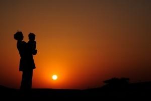 poem sunset