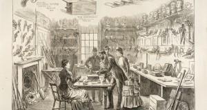 The Met Crime Museum, drawn around 1900