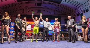 Victory to the man in the yellow shorts! PHOTOS: Stephen Smith