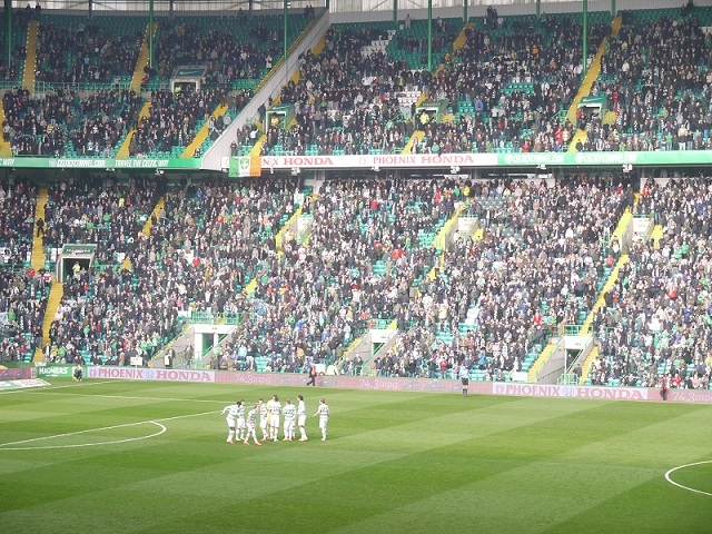 Changing Rooms Of Celtic Park
