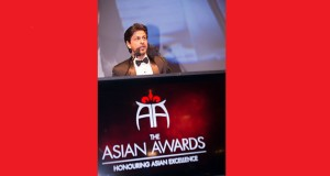 SRK speech. Photo: Areez Charania Javed & Mizan