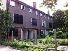 Empty homes await regeneration to meet housing need.