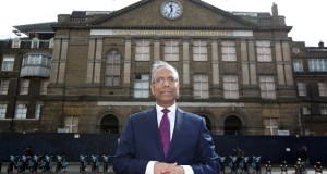 Mayor Rahman visits the former Royal London Hospital, the site for the new town hall, 23rd March 2015.