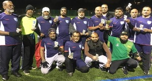 The winning Sylhet over-50s