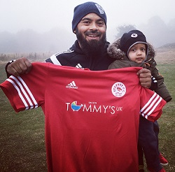 Emdad, the team shirt - and the next generation