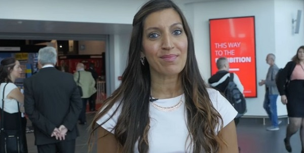 Dr Rosena Allin-Khan MP at Labour's Conference last autumn.