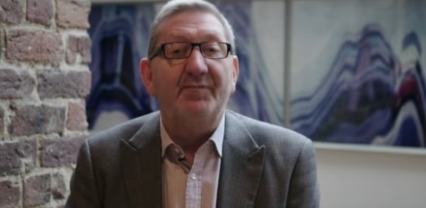 Unite Leader Len McCluskey - backing the minimum wage