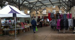 Areas such as Chrisp Street market (pictured) are pedestrian friendly - but are still dangerously close to the Borough's main through roads.