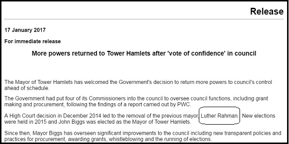 Detail from Council press release.
