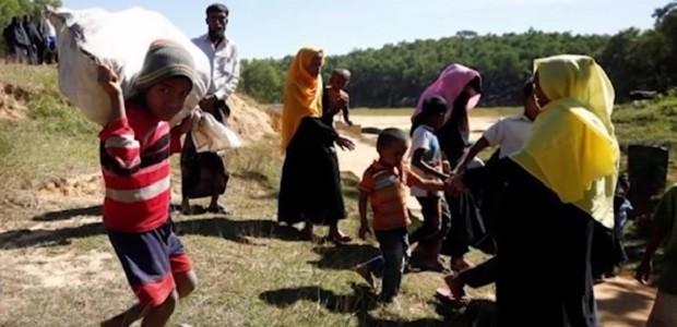 Rohingya refugees in Banlgadesh