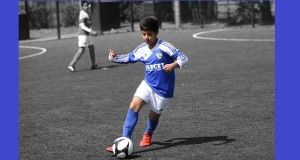 Uthman Ahmed of the U13s