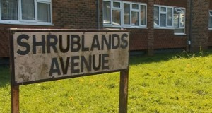 The attack took place in Shrublands Road.