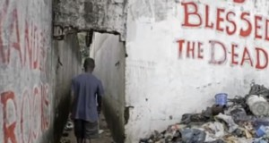 Civil wars in Liberia left destruction and destitution...