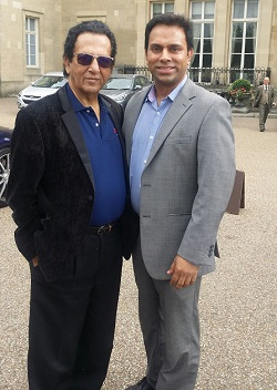 Dr Kali with Maruf Ahmed