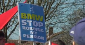 Trade unions have been trying to halt the decrease in private pensions - which makes state pensions even more important to many older workers.