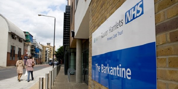The Barkantine Walk-in Service in Westferry Road, Isle of Dogs, is one of two walk-in services in Tower Hamlets open daily from 8am to 8pm over the bank holiday weekend.