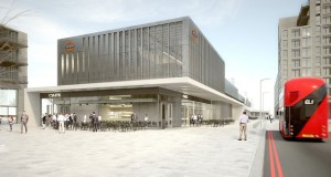 TfL's artist's impression of the new station in Barking Riverside.