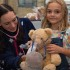 Teddy getting a health check at the 206 Open Day.