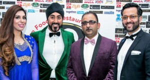Mr A. Haq, Chair of AFRA; Rumessah Maria; Magic Singh; and Mr Ali Allaudeen