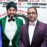 Mr A. Haq, Chair of AFRA; Rumessah Maria; Magic Singh; and Mr Ali Allaudeen