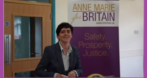 Ann Marie Waters launches her UKIP leadership campaign.