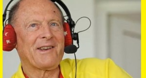 Geoffrey Boycott: still in the commentary seat