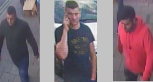 Police believe these three men were the lookouts in the burglary operation.