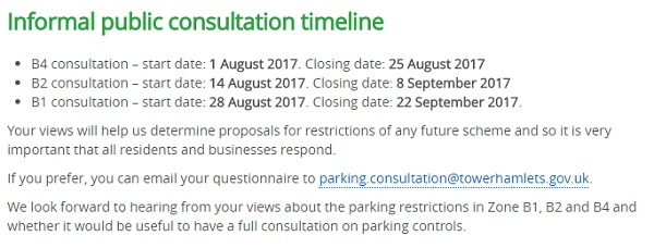 "The second part of the announcement on the Council website refers to this massive postal exercise being an ""informal"" consultation."