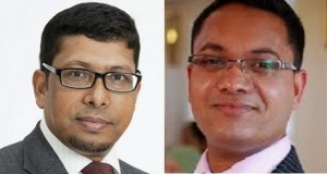 Cllr Ohid Ahmed (left) and Cllr Oliur Rahman (right)