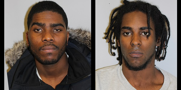 Phil Kamulete (left) and Romaro Watson (right) – now behind bars