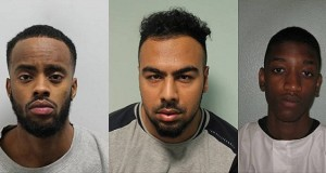 The murderers (left to right): Sami Omar, Suleman Roberto Mohamed, Jordie Kibusi