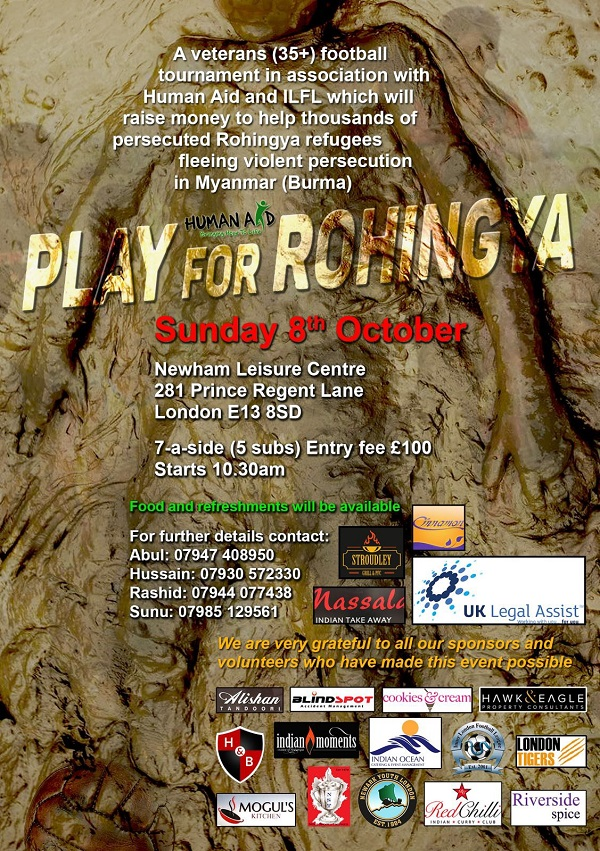 Play for Rohingya 1