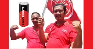 Atra Narwanto (left) and Lutfi Ariyanto