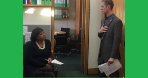 North East London Operations Manager delivers a Dementia Friends information session to Diane Abbott and her team.