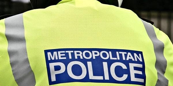 met police jacket back