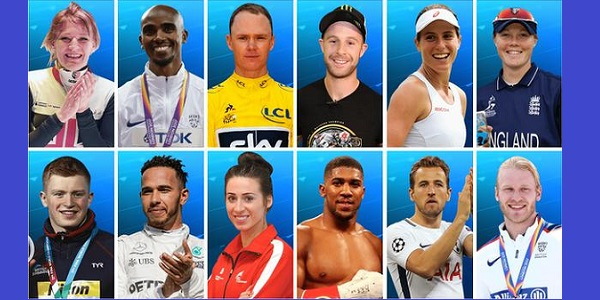 The shortlisted sports personalities