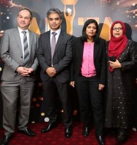 Paul Scully MP; ARTA Founder, Salik Mohammed Munim; Rupa Huq MP; Baroness Uddin