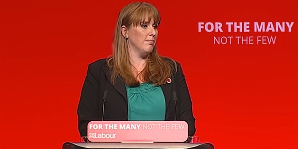 Angela Rayner MP talks to Labour Party Conference.