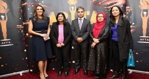 Samantha Simmonds; Rupa Huq MP; ARTA Founder, Salik Mohammed Munim; Baroness Uddin; and Rushanara Ali MP at the ARTA nominations launch