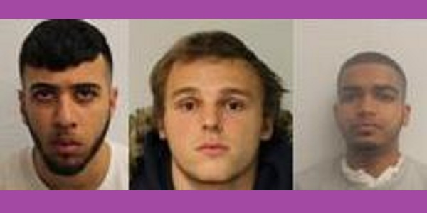 The three young con artists who preyed on the vulnerable elderly.