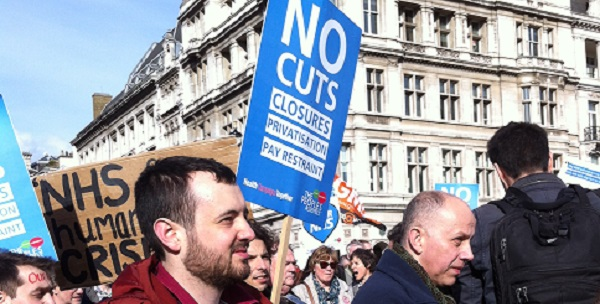 Campaigners have been fighting for the NHS to receive proper funding, to keep up levels of service.