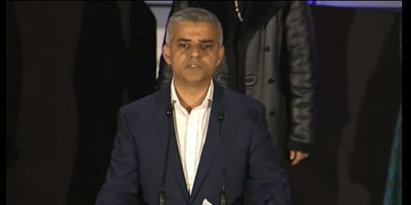 Sadiq Khan - offering more knie wands to schools
