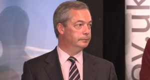 Former UKIP Leader Nigel Farage: is he contemplating a new stint as Leader, or wondering what UKIP is for now?
