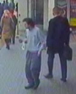 Daniel O'Neill seen on CCTV